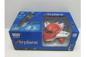 Remote rotating small aircraft (with light, music, 2 red and blue) No.:8819
