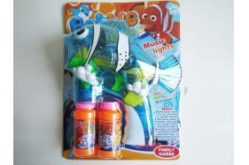 Dumb clown fish electric bubble gun. No.:TK041450