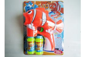 Clown fish electric bubble gun No.:TK041449