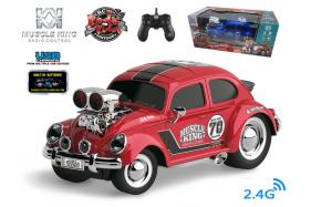 2.4G 6-channel 1:16 scale remote control muscle racing cars with music and light No.:MK8131B