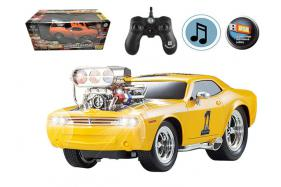 2.4G 6-channel 1:16 scale remote control muscle racing car with enginee No.:MK8126B