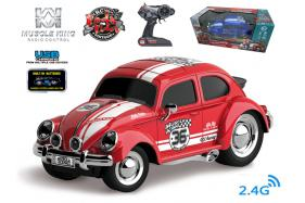 2.4G 6-channel 1:16 scale remote control muscle racing car with music and light No.:MK8030B