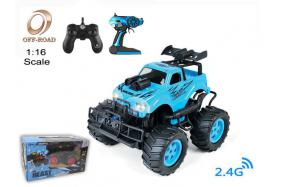 4-Function 2.4G 1:16 scale R/C off-road Car with switchable sound and light No.:OR2673