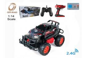 4-Function 2.4G R/C 1:14 off-road Car with rechargeable battery No.:OR2661B