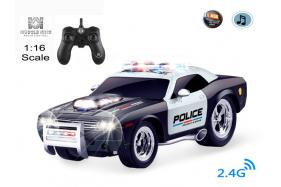 2.4G 6-channel 1:14 scale remote control muscle police car No.:MK8025B
