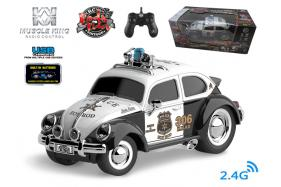 2.4G 6-channel 1:16 scale remote control muscle police car with music No.:MK8035B