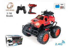 4-Function 2.4G R/C 1:16 off-road Car with rechargeable battery No.:OR2672B