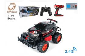 4-Function 2.4G R/C 1:14 off-road Car with rechargeable battery No.:OR2663B