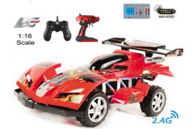 4-Function 2.4GHz high speed R/C Buggy 1:16 scale with switchable sound No.:BG2012B