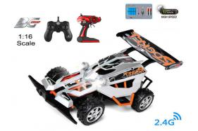 4-Function 2.4GHz high speed R/C Buggy 1:16 scale with switchable sound No.:BG2017B