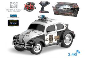 2.4G 6-channel 1:16 scale remote control muscle police car with music No.:MK8036B