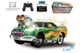 2.4G 6-channel 1:16 scale remote control muscle dragon car with handle-shape controller No.:MK8127B