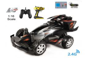 4-Function 2.4GHz high speed R/C Buggy 1:16 scale with switchable sound and speeding-up function No.:BG2011B