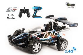 4-Function 2.4GHz high speed R/C Buggy 1:16 scale with switchable sound and speeding-up function No.:BG2013