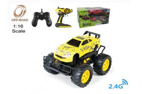 4-Function 2.4G 1:16 scale R/C off-road Car with switchable sound and light No.:OR2681