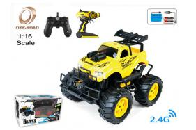 4-Function 2.4G R/C 1:16 off-road Car with rechargeable battery  No.:OR2673B