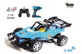 4-Function 2.4GHz high speed R/C Buggy 1:16 scale with switchable sound and speeding-up function No.:BG2014