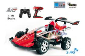 4-Function 2.4GHz high speed R/C Buggy 1:16 scale with switchable sound and speeding-up function No.:BG2013B