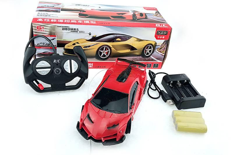Remote control car toy model 1:24 poison simulation car No.TA253122