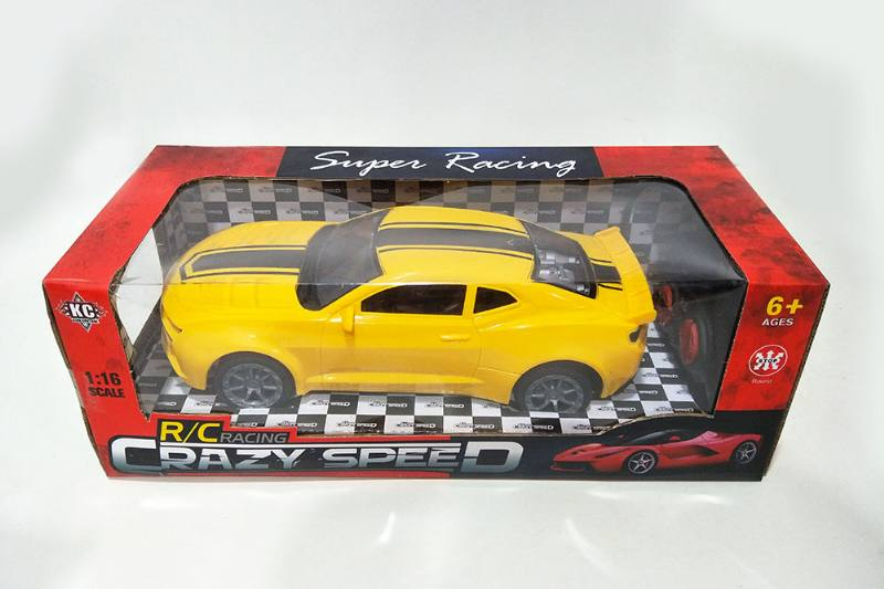 1:16 4 channel four-way remote control RC car new bumblebee No.TA256296