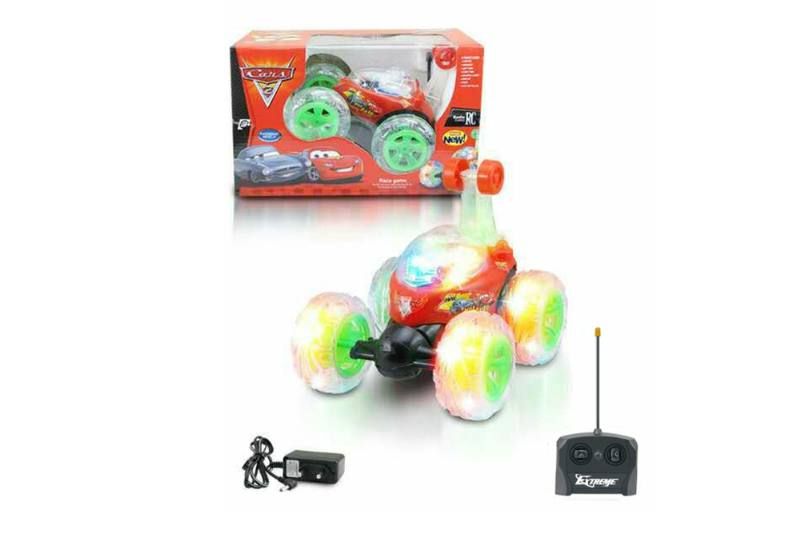 4 channel four-way remote control RC cars paddle wheel stunt dump truck with musNo.TA256300