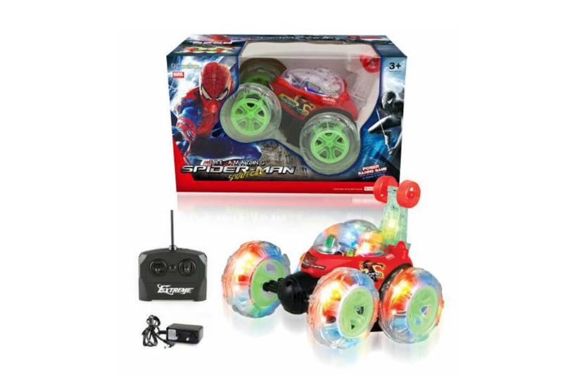 4 channel four-way remote control RC cars paddle wheel stunt dump truck with musNo.TA256302