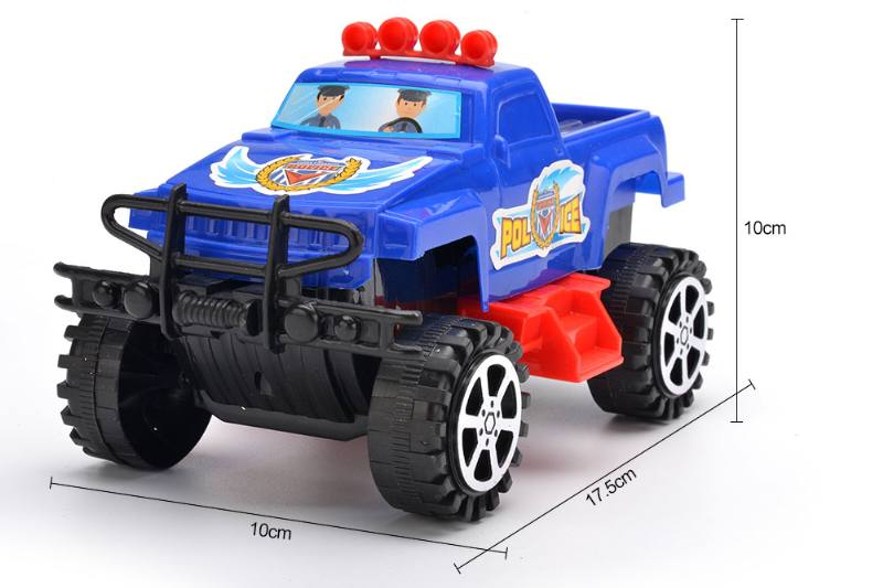 Solid color cartoon pull car with lights No.TA252182