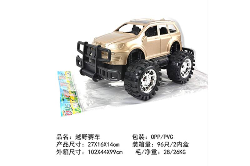 Friction car toys inertia toy Off-road simulation carNo.TA256399