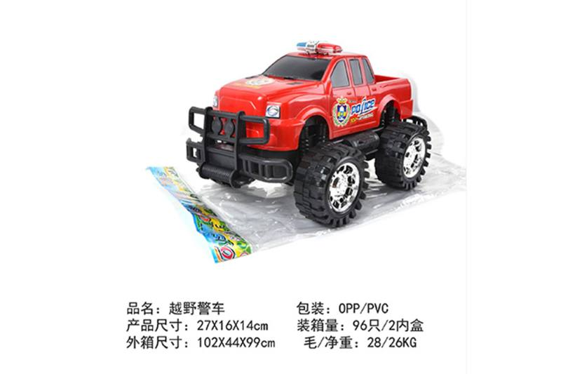 Friction car toys inertia toy Off-road police carNo.TA256409