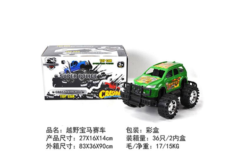 Friction car toys inertia toy Off-road police carNo.TA256410