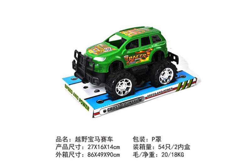 Friction car toys inertia toy Off-road police carNo.TA256411