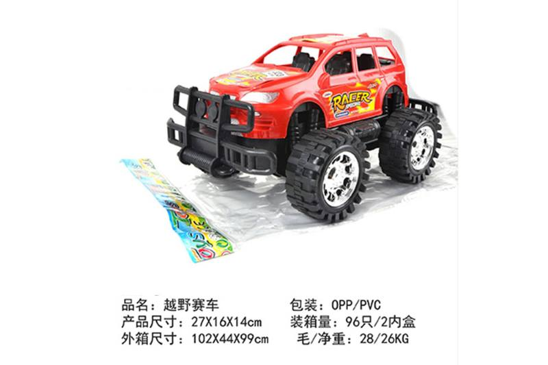 Friction car toys inertia toy Off-road police carNo.TA256412