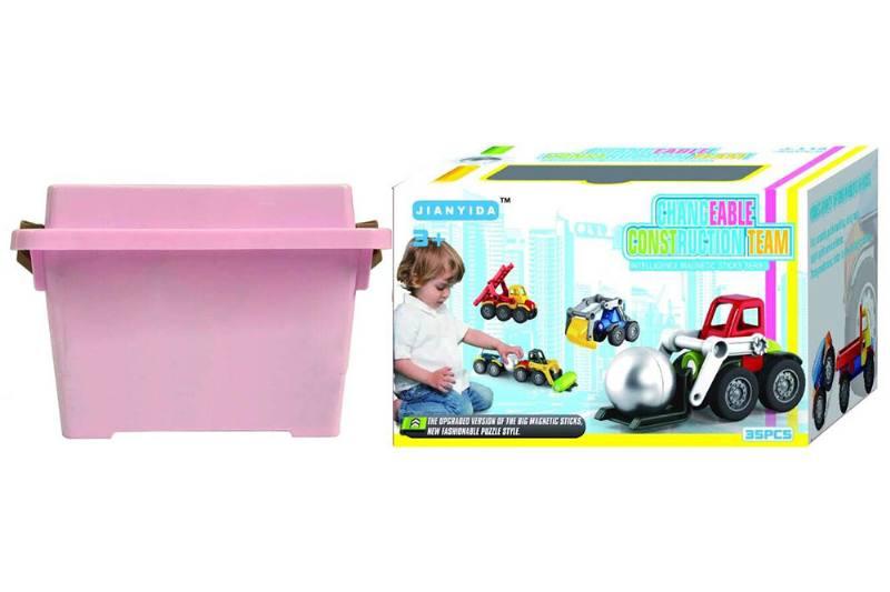 Educational Toys Variety Magnetic Car (35PCS) No.TA251981