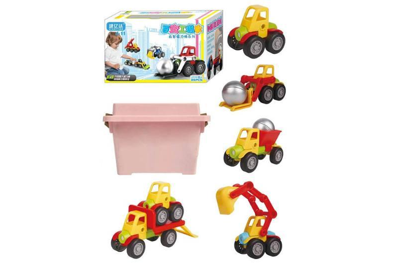 Educational Toys Variety Magnetic Car (35PCS) No.TA252017