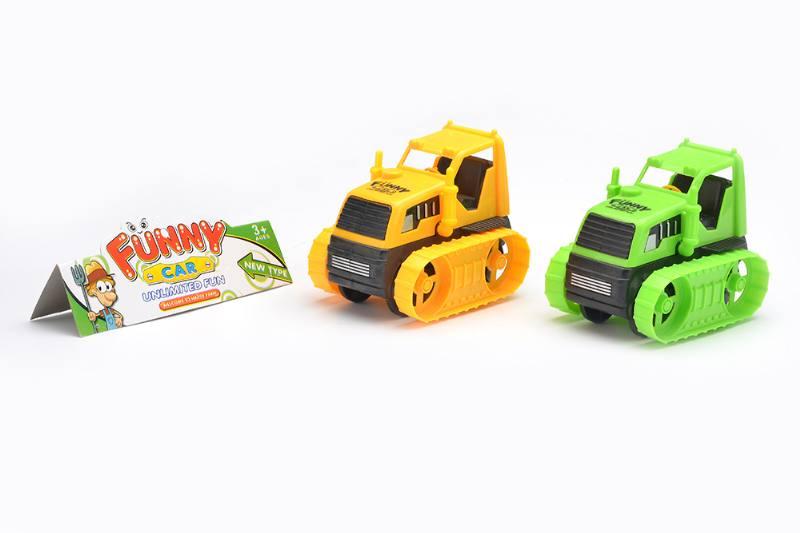 Free wheel cartoon cars engineering vehicles toysNo.TA256273