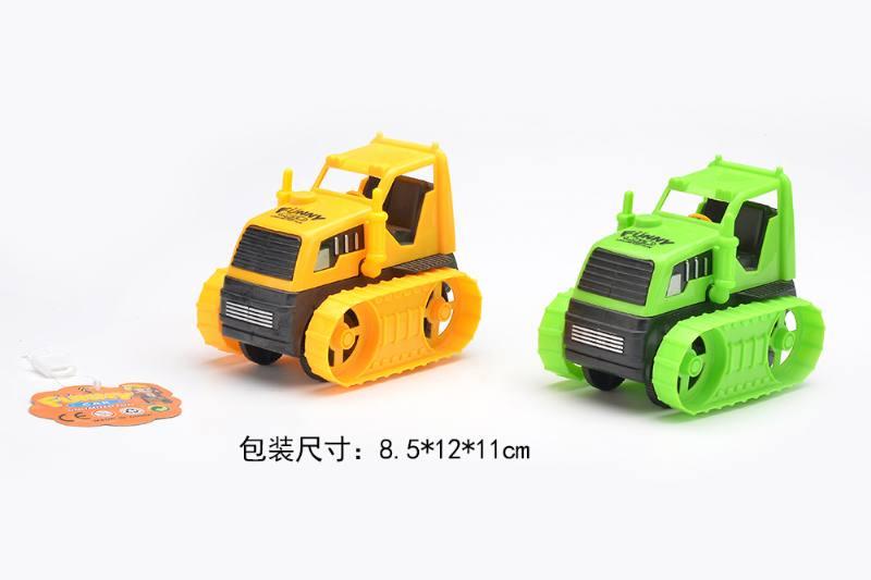 Free wheel cartoon cars engineering vehicles toysNo.TA256275