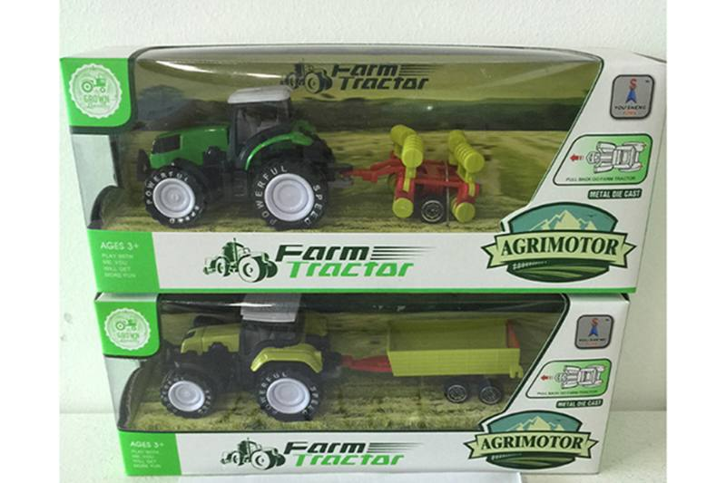 Alloy Toys Pull back alloy farmer Pull back alloy car No.TA252083