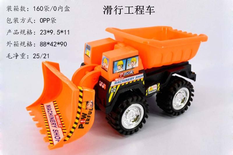 Free Wheel Engineering Toy Car Free Wheel Engineering Truck No.TA247824