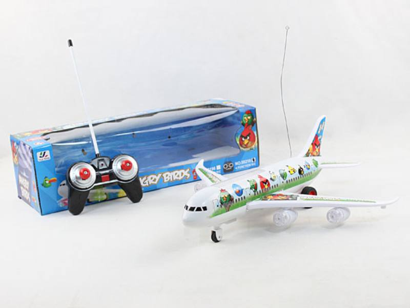 Angry Birds Remote Control Plane RC Airplane Toys No.TA138350