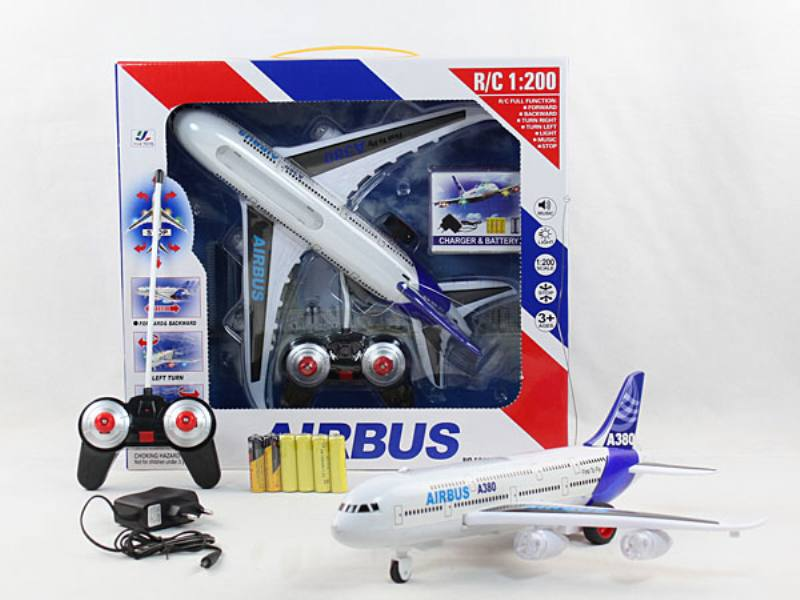 A380 4 Channel landing remote control aircraft RC quadcopter drone model educational toys No.TA138359