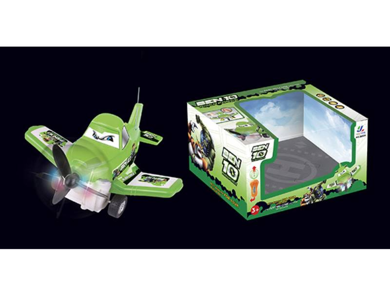2 Channel remote control aircraft RC quadcopter drone BEN10 standard (2 lights with music) No.TA138433
