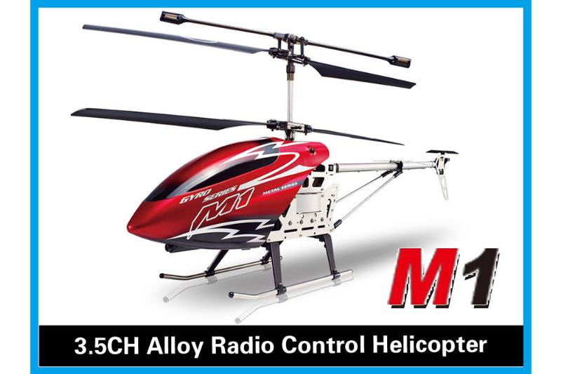 R/C plane helicopter quadcopter drone model 3.5 channel alloy with gyroscope radio-control No.TA168476