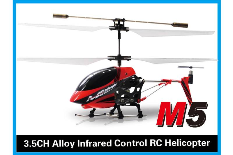 R/C plane helicopter quadcopter drone model 3.5 channel alloy with gyroscope infrared remo No.TA168478
