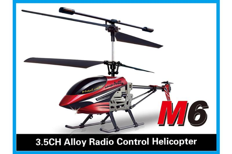 R/C plane helicopter quadcopter drone model 3.5 channel alloy with gyroscope radio-control No.TA168480