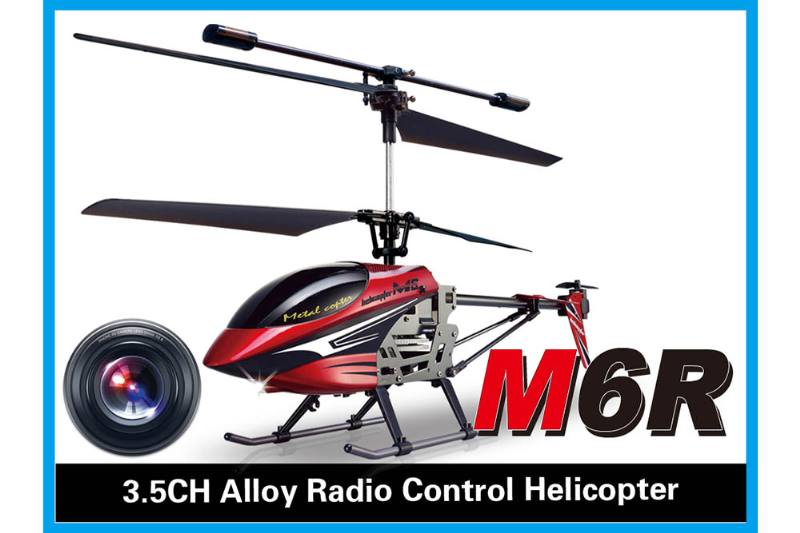 R/C plane helicopter quadcopter drone model 3.5 channel alloy camera with gyroscope radio  No.TA168481