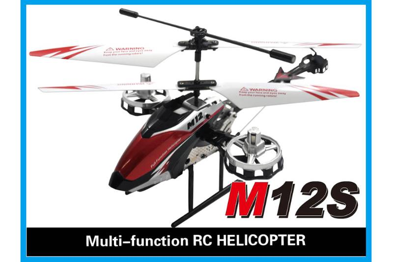 R/C plane helicopter quadcopter drone model 4.5 channel gyro alloy remote control aircraft No.TA168484