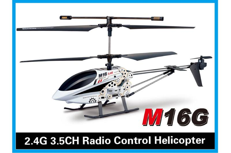 R/C plane helicopter quadcopter drone model 3.5 channel with gyroscope alloy 2.4G remote c No.TA168490