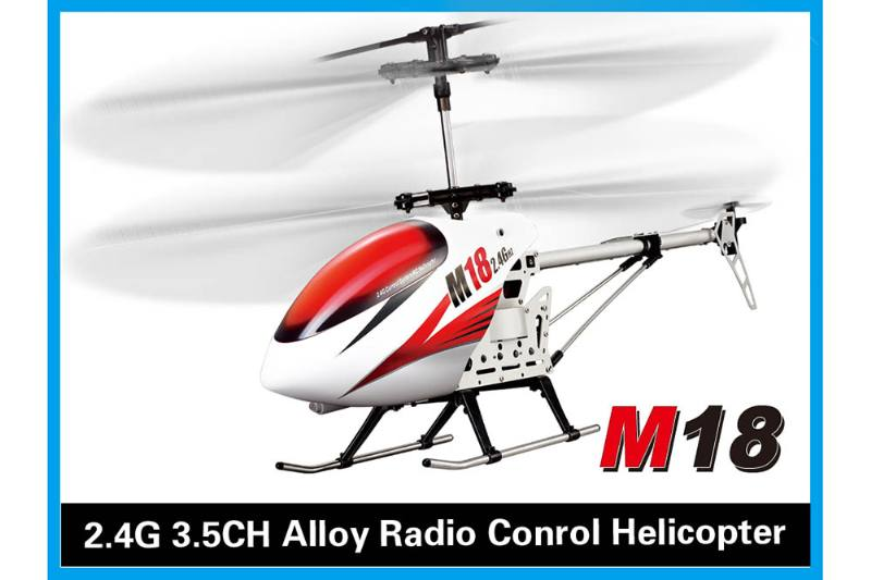 R/C plane helicopter quadcopter drone model 3.5 channel with gyro alloy 2.4G remote contro No.TA168491