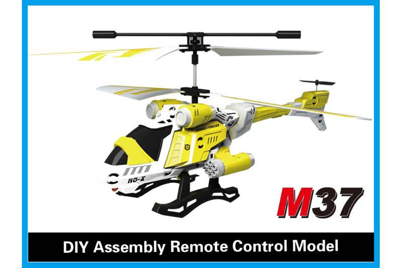 R/C plane helicopter quadcopter drone model 3.5 channel alloy with gyro remote control air No.TA168497