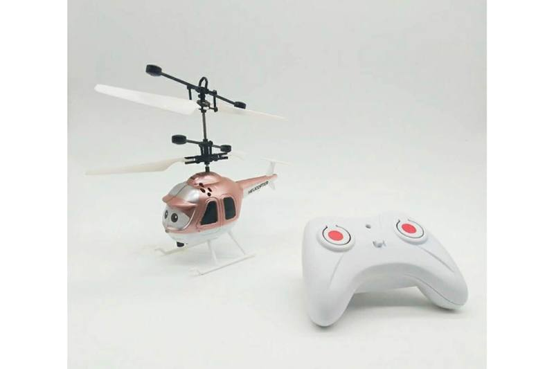 Cartoon helicopter remote control aircraft RC quadcopter drone (with remote control) No.TA250272